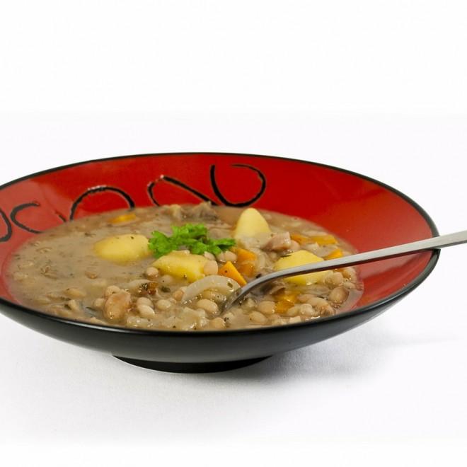 Lęšių sriuba su grybais