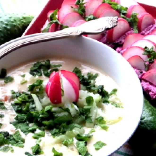 Lydyto sūrio sriuba