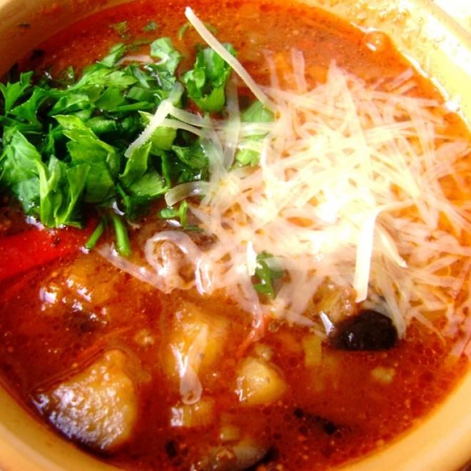 Sriuba su baklažanu