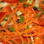 Morkų salotos su vištiena